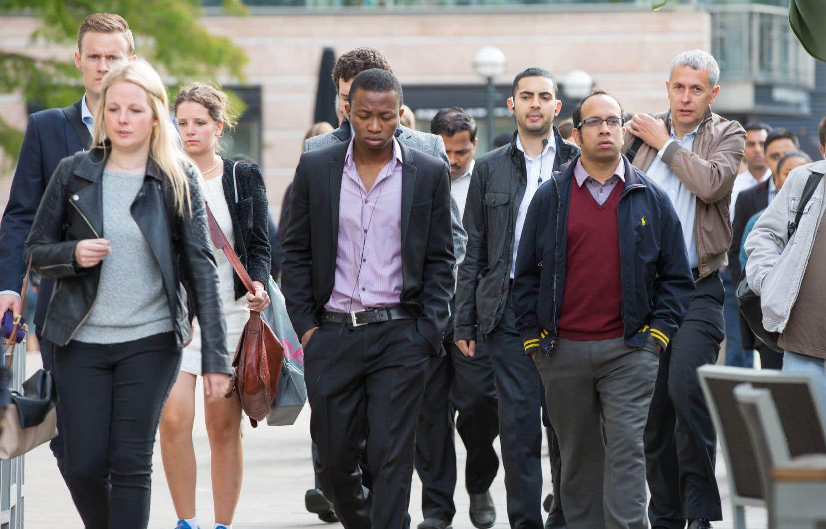 En janvier 2017, une étude de Statistique Canada prévoyait qu'en 2036, près de la moitié des Canadiens seraient des immigrants de premièreou de deuxièmegénération.