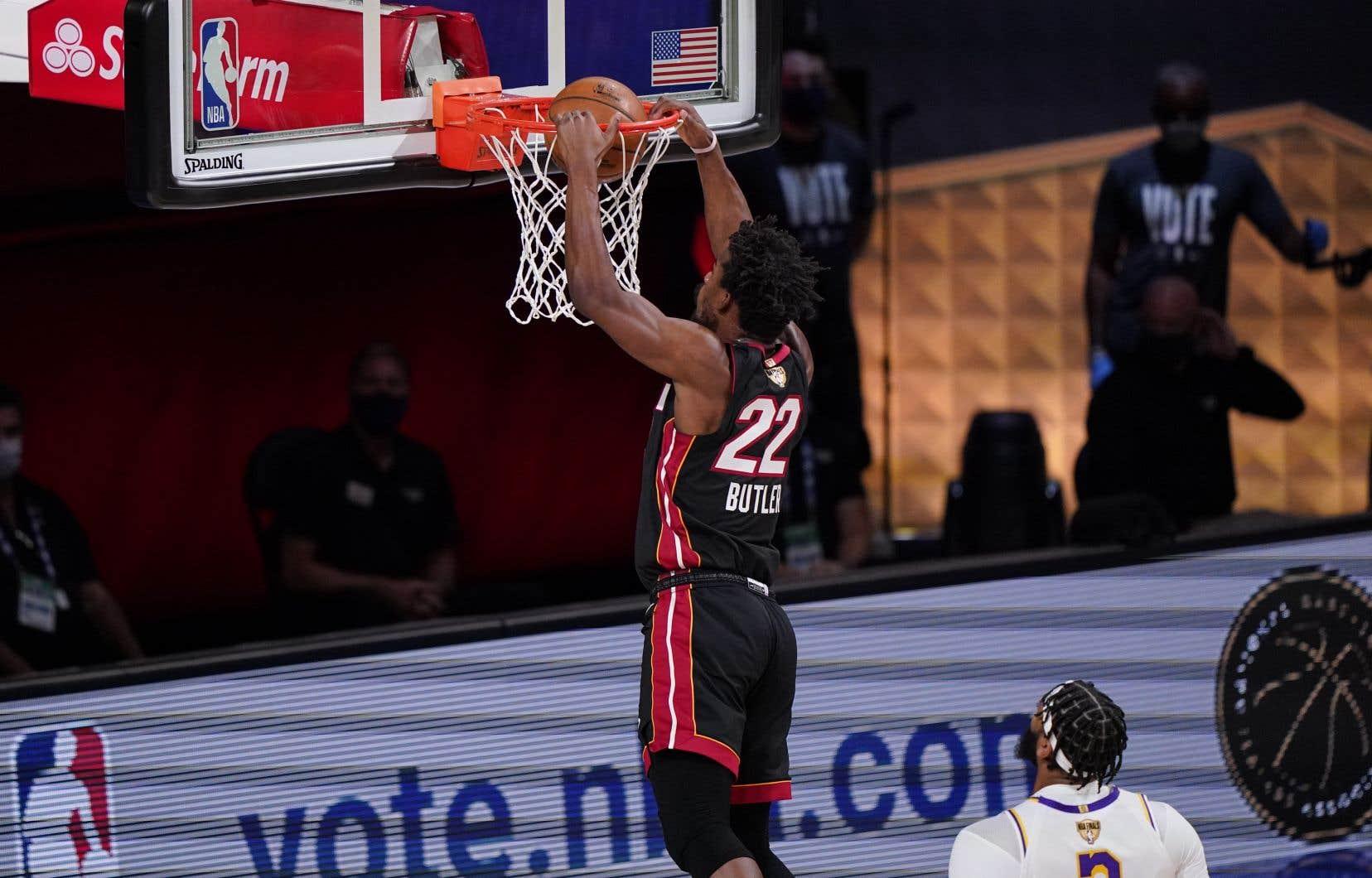 Jimmy Butler a livré le match de sa vie au moment où le Heat en avait le plus besoin.