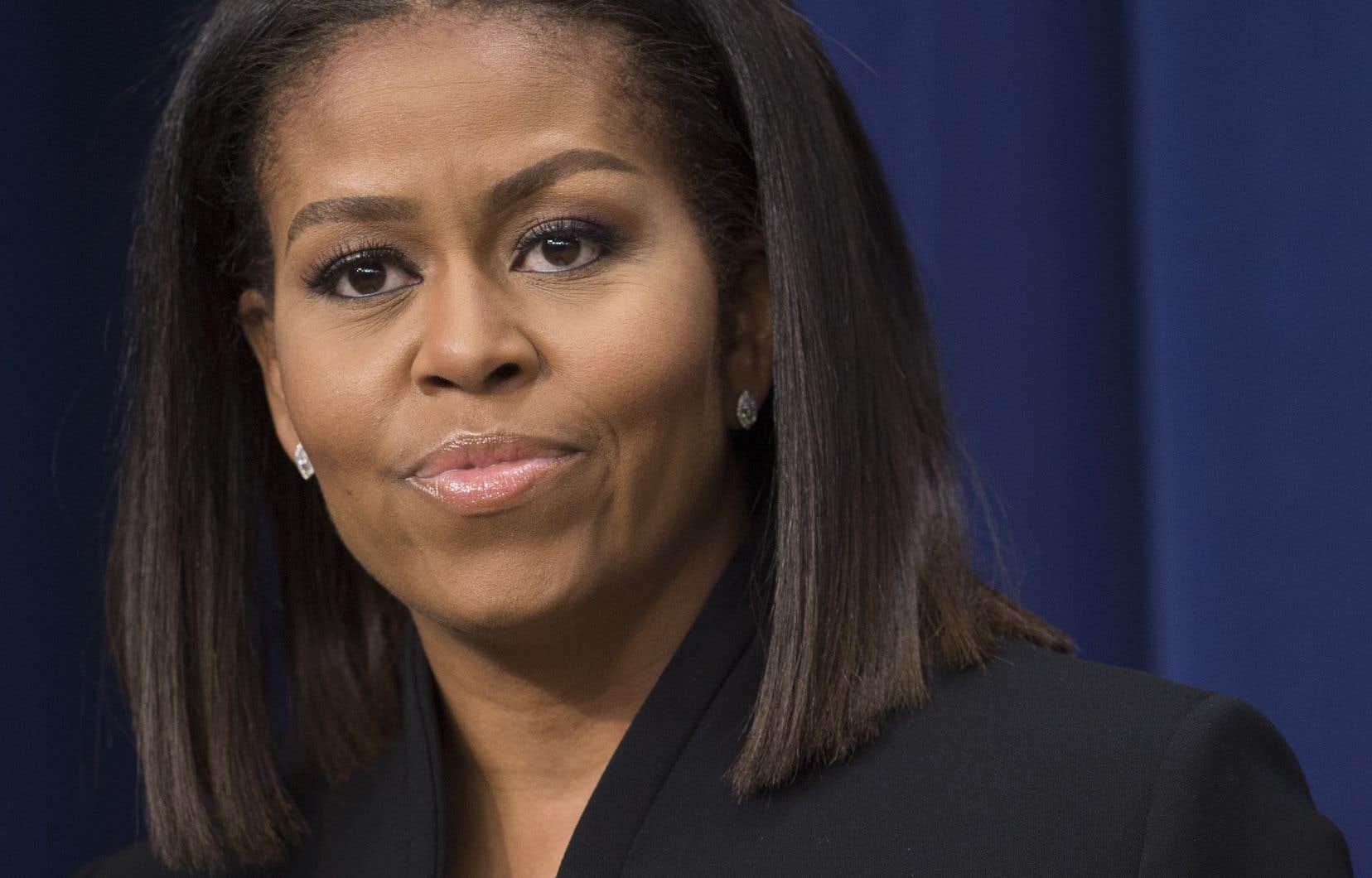 L'ancienne première dame des États-Unis, Michelle Obama