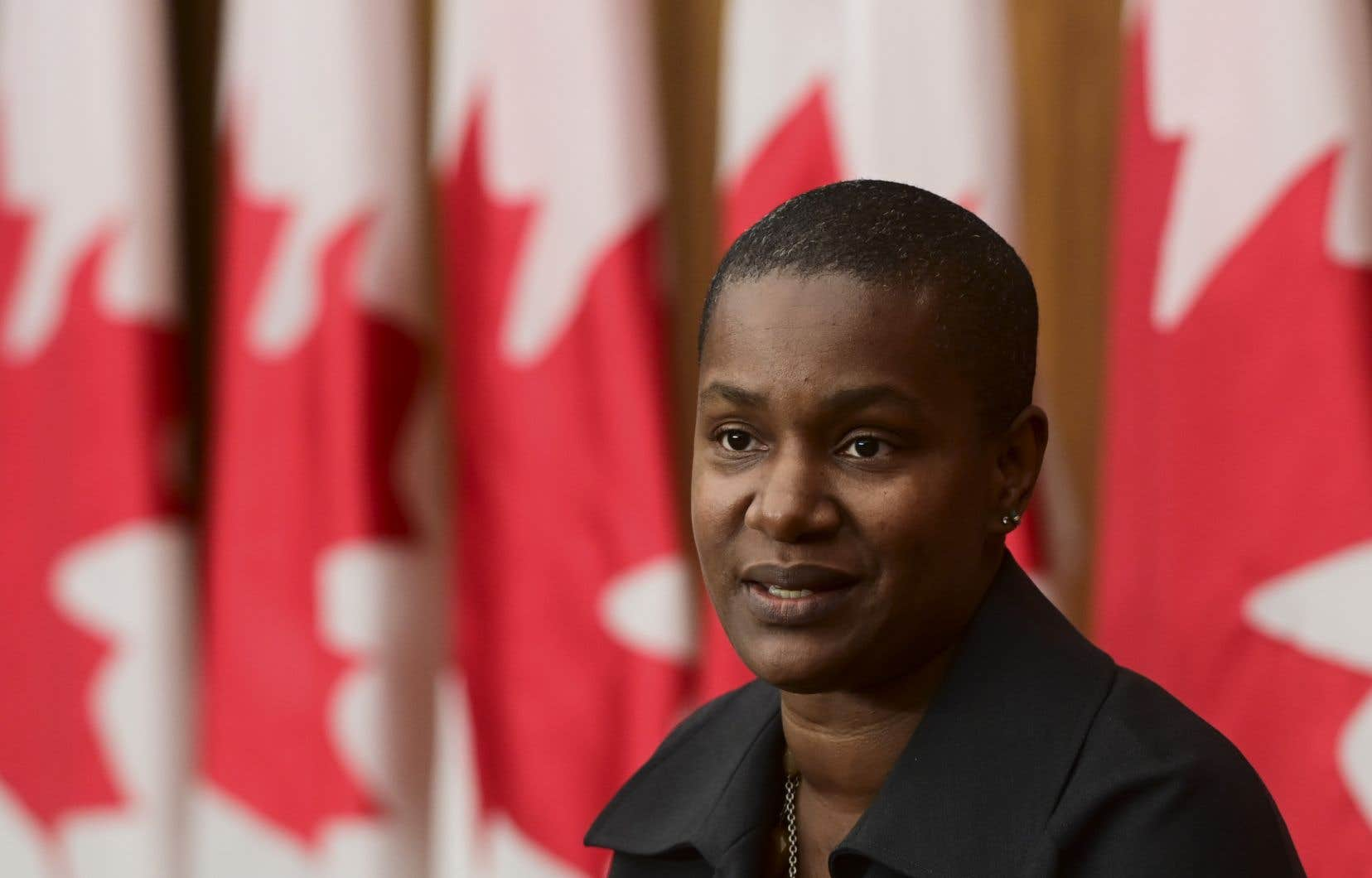 La nouvelle cheffe du Parti vert du Canada, Annamie Paul