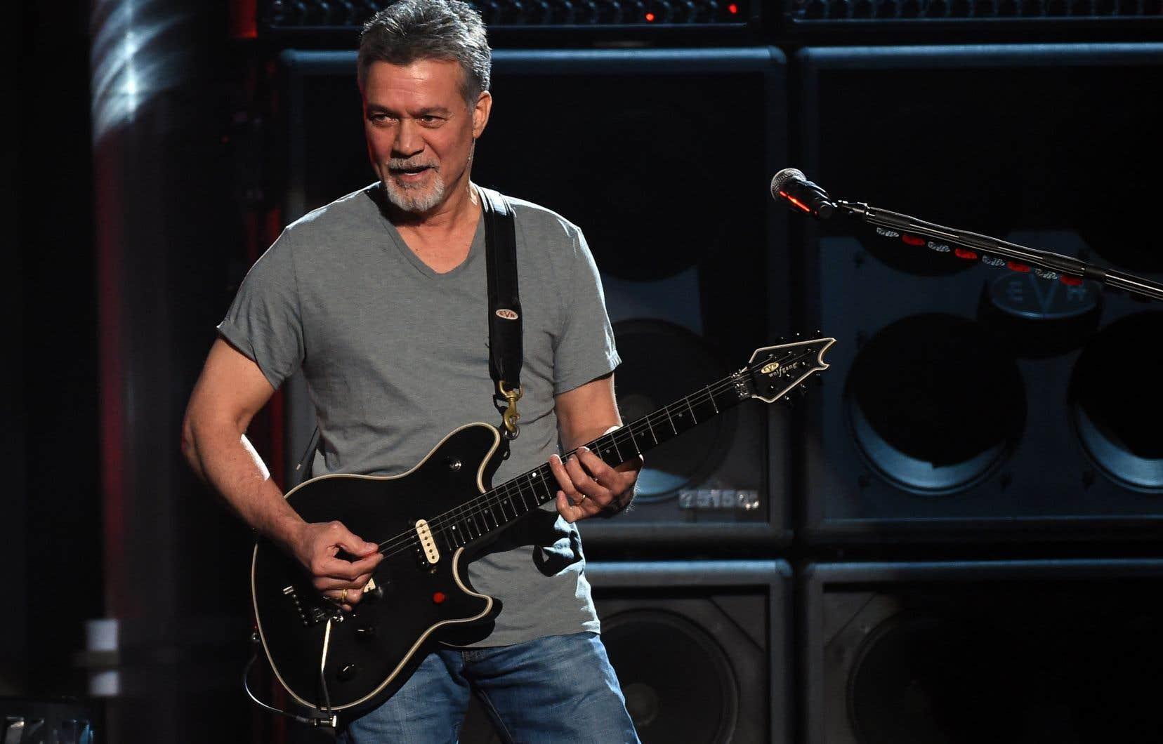 Eddie Van Halen en 2015