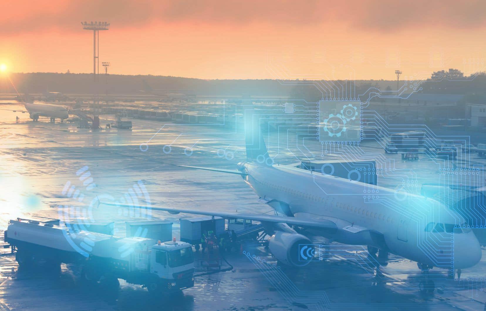 La supergrappe du Québec porte sur l'intelligence artificielle, appliquée notamment au transport aérien.
