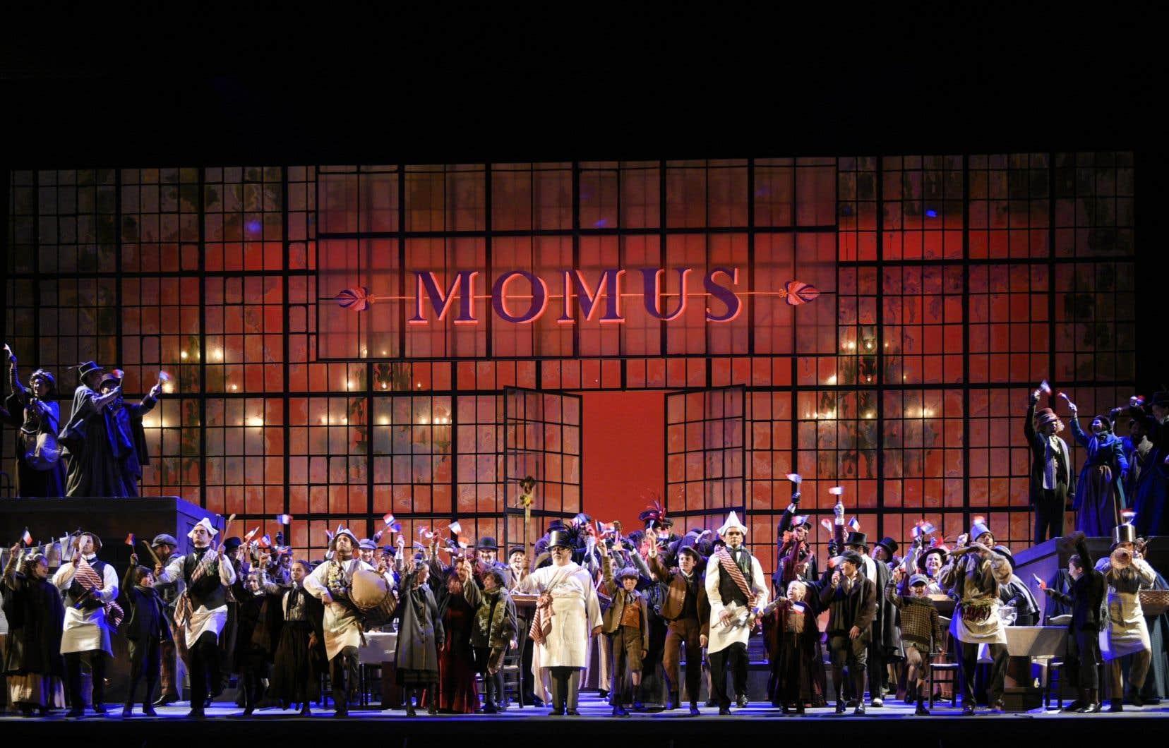 Le premier effet du massif investissement sera la webdiffusion, le 22octobre à 19h30, de «Labohème», de Puccini, présentée en 2017 à l'occasion du 375eanniversaire de Montréal, qu'on pourra regarder gratuitement, sur inscription.