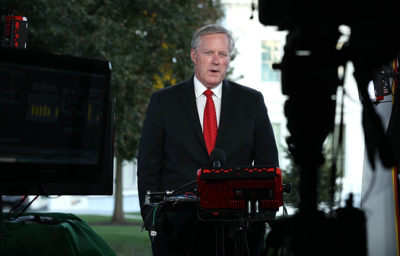 Le chef de cabinet de la Maison-Blanche, Mark Meadows, a assuré que le gouvernement fédéral était disposé à injecter 1600 milliards.