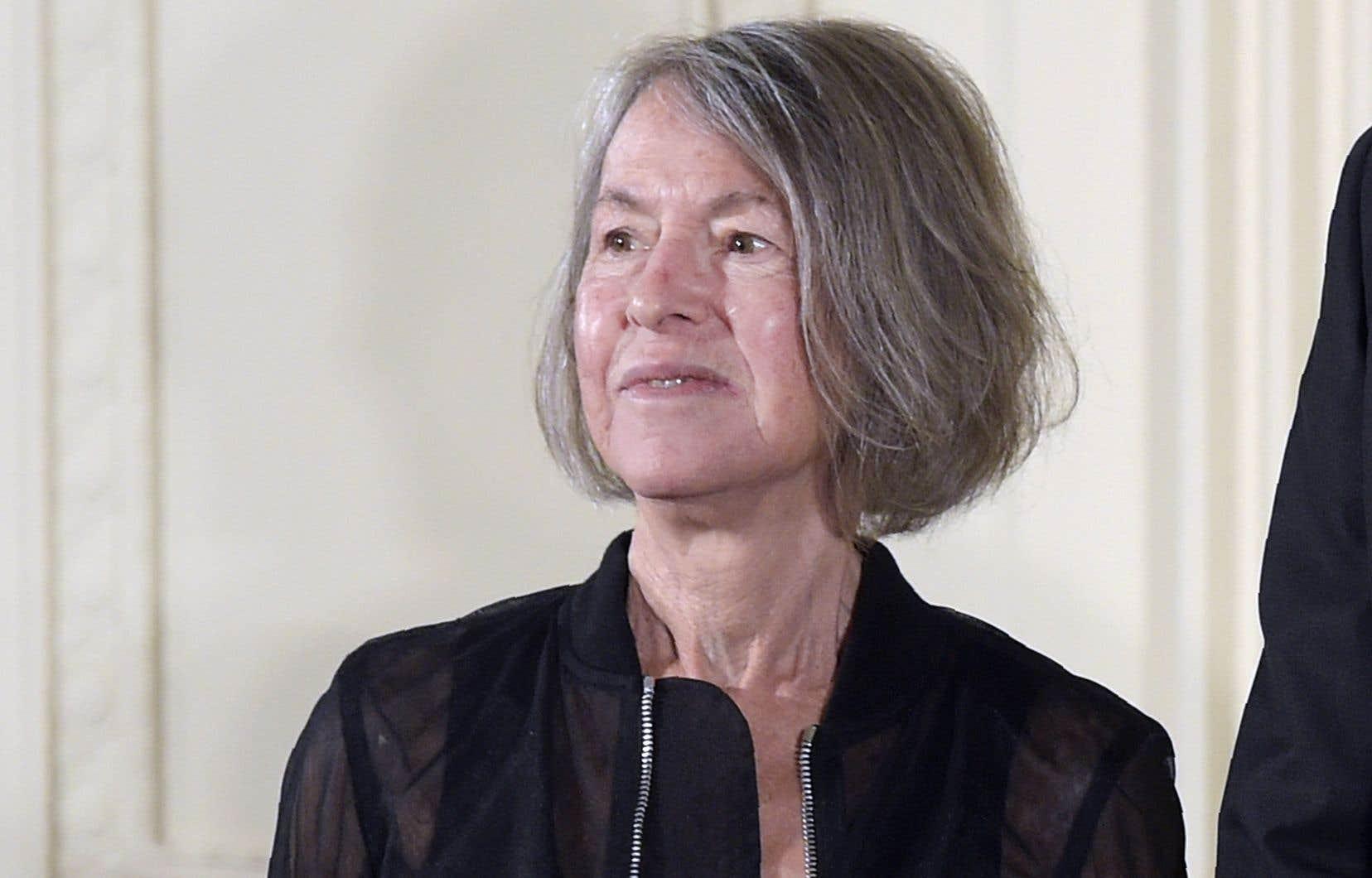 La poète américaine Louise Glück