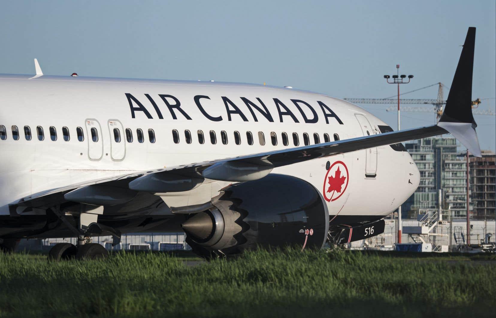 Air Canada compte actuellement 24 Boeing 737 MAX 8 dans sa flotte, y compris les neuf qu'elle a vendus et loués.