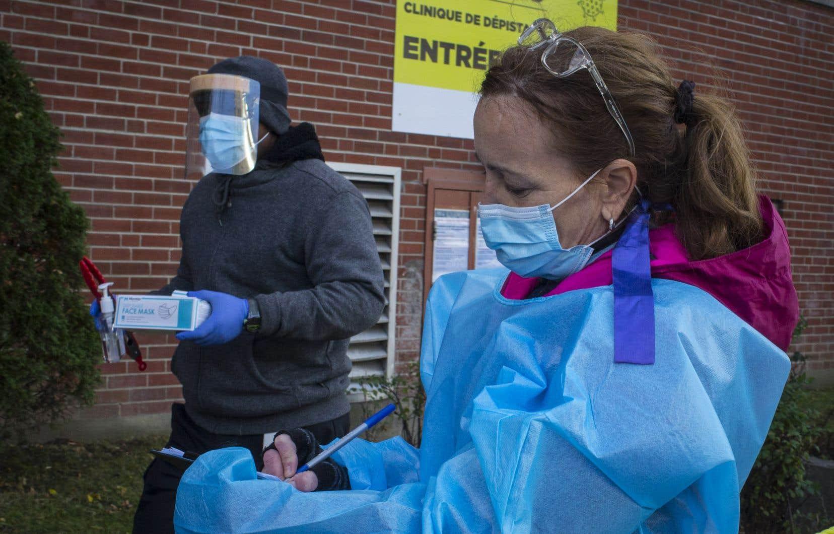 Les préposés aux bénéficiaires, les infirmières et les infirmières auxiliaires comptent pour 70% des cas d'infection.