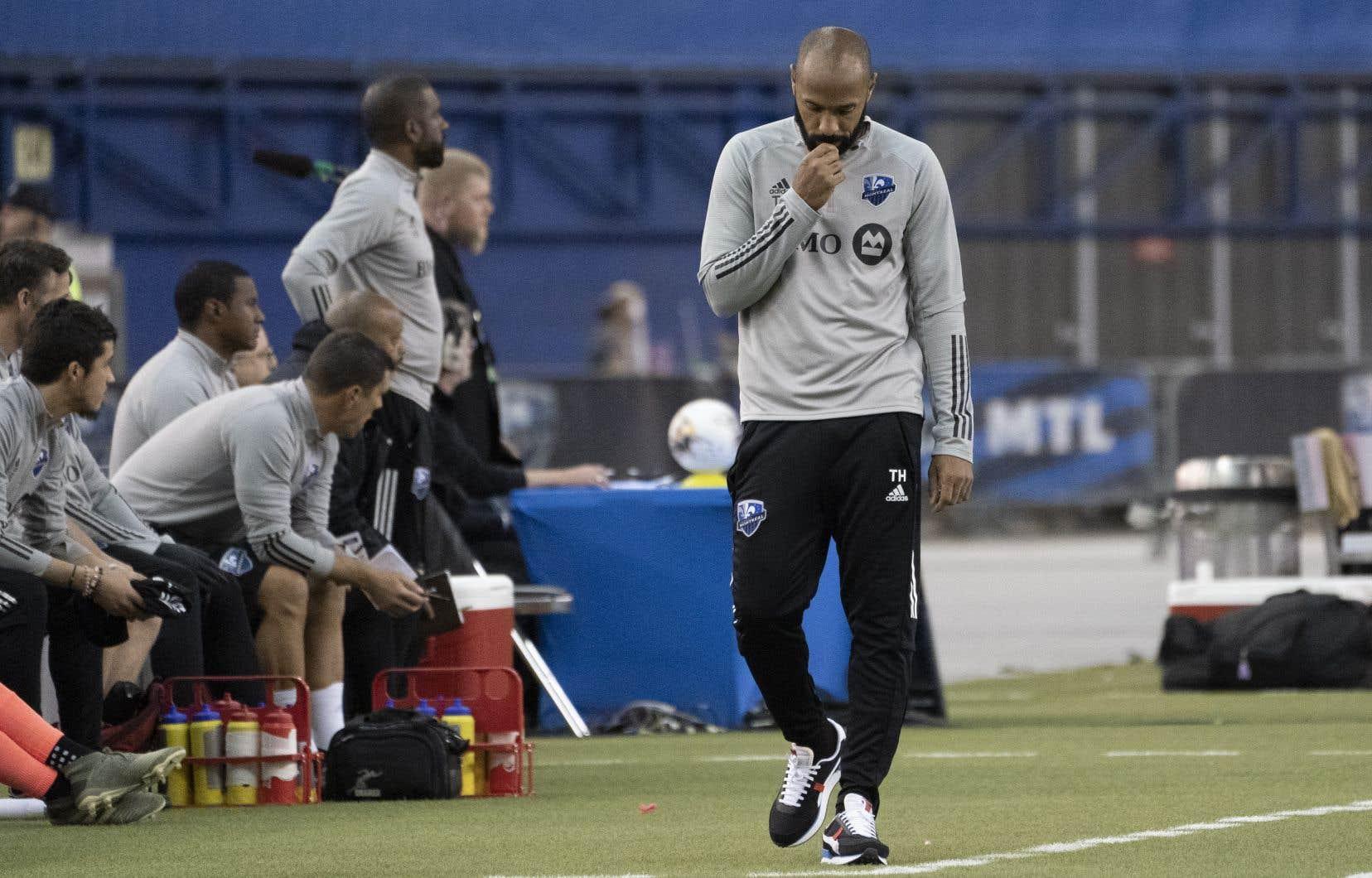 L'entraîneur Thierry Henry n'a pas pu convenablement préparer son club en vue de l'affrontement de mercredi, contre le Revolution de la Nouvelle-Angleterre, faute de joueurs à l'entraînement.