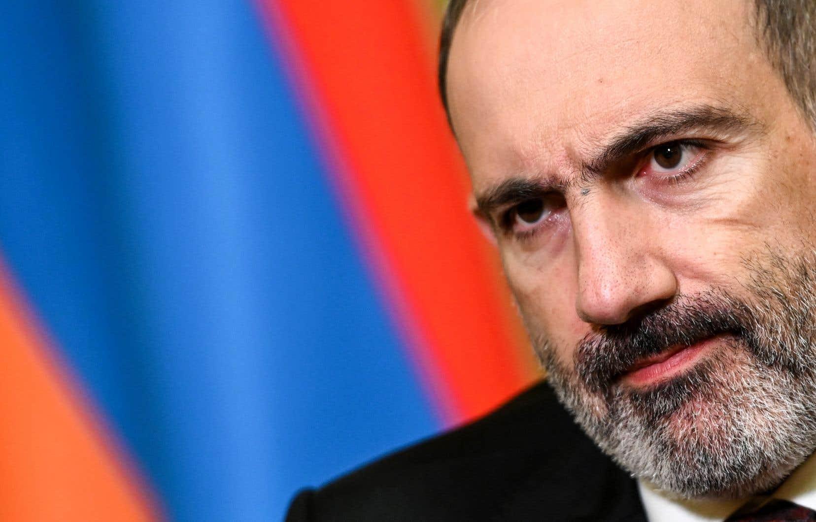 Pour le premier ministre arménien, Nikol Pachinian, les attaques de l'Azerbaïdjan sont motivées par un désir d'expansion de la Turquie vers le sud et l'est.