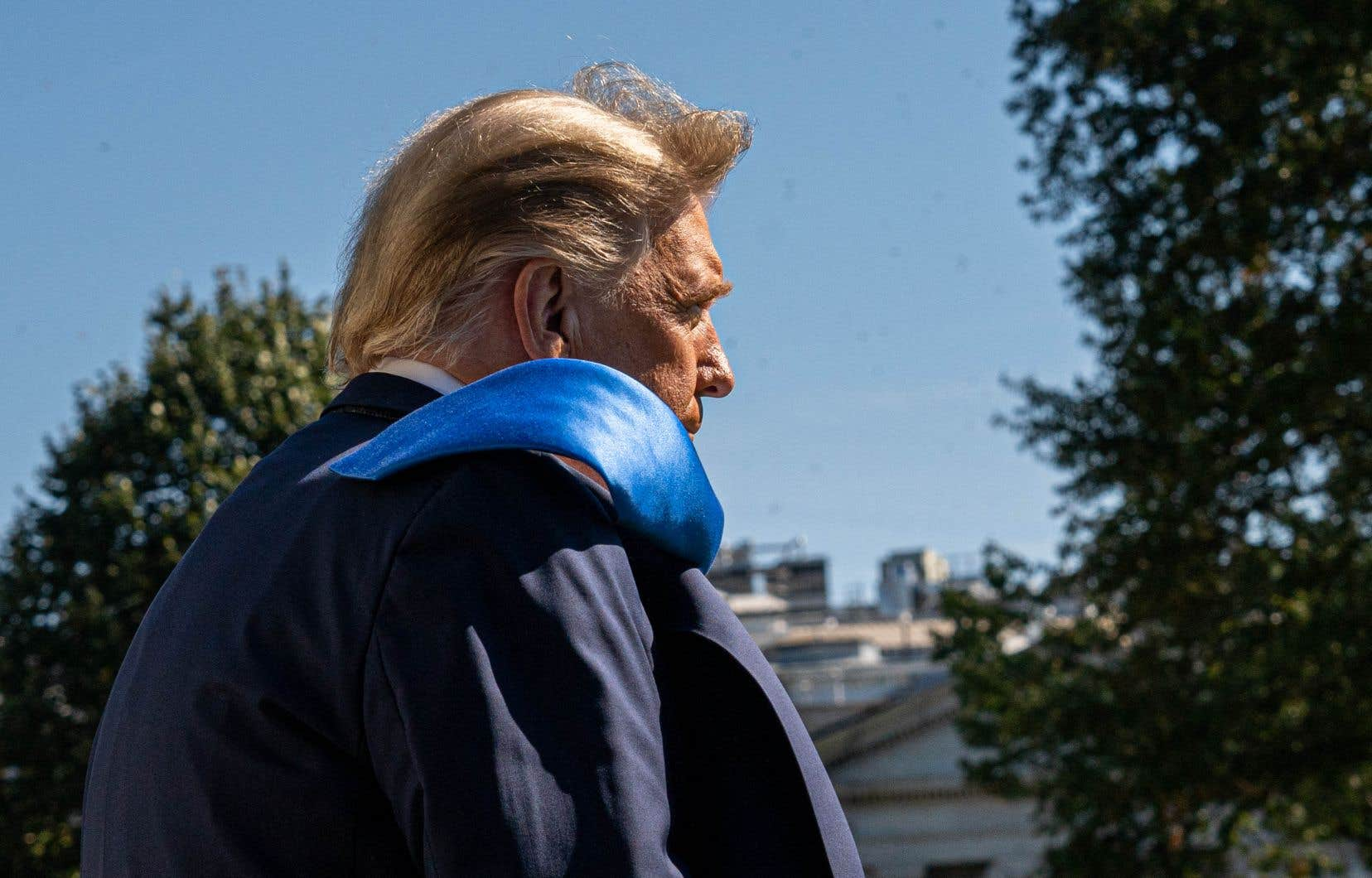 Le président américain, plus combatif que jamais, compte sur une intense campagne de terrain pour faire mentir les sondages.