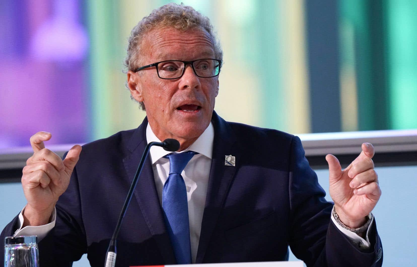 Le ministre Jean Boulet
