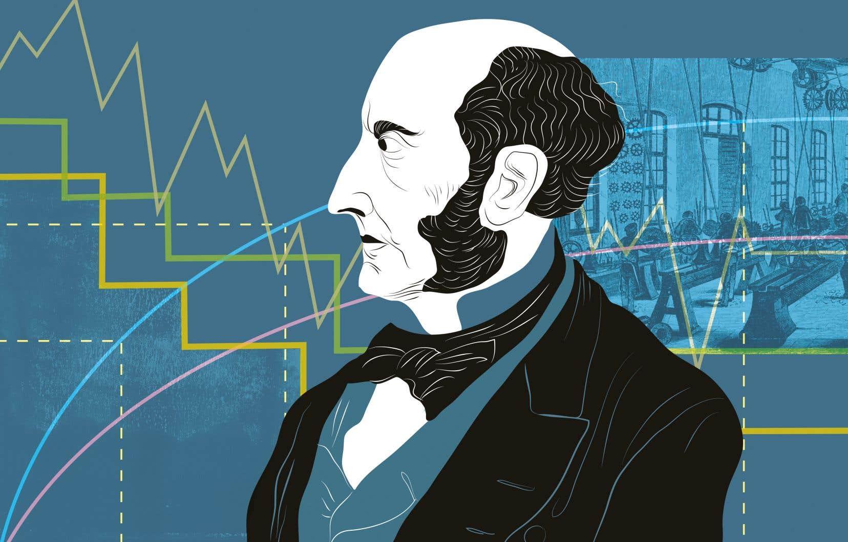 Que nous dirait le philosophe britannique John Stuart Mill aujourd'hui? Dans l'immédiat, il serait sans doute fort déçu de voir que, comme les économistes des siècles passés, la plupart des chefs d'État ne voient le salut des nations que dans la croissance.