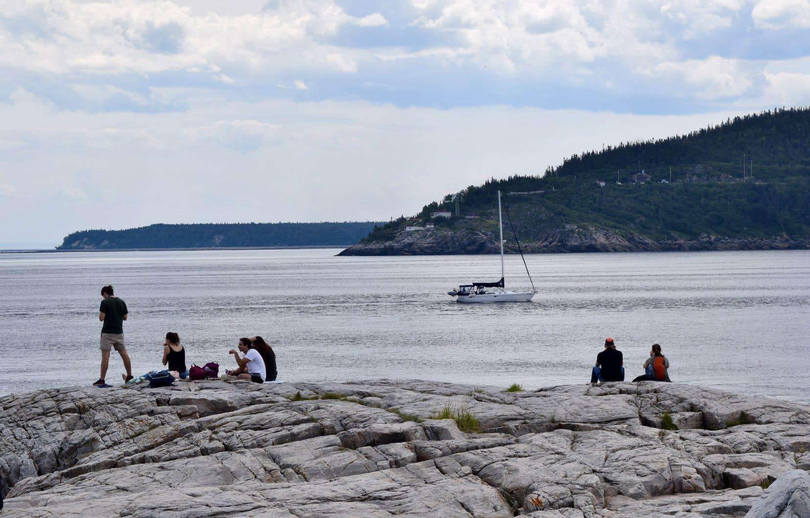 «L'industrie touristique est importante dans la région et on ne voudrait surtout pas développer un secteur industriel pour nuire à une autre industrie», souligne Stéphane Tremblay, porte-parole de GNL Québec.