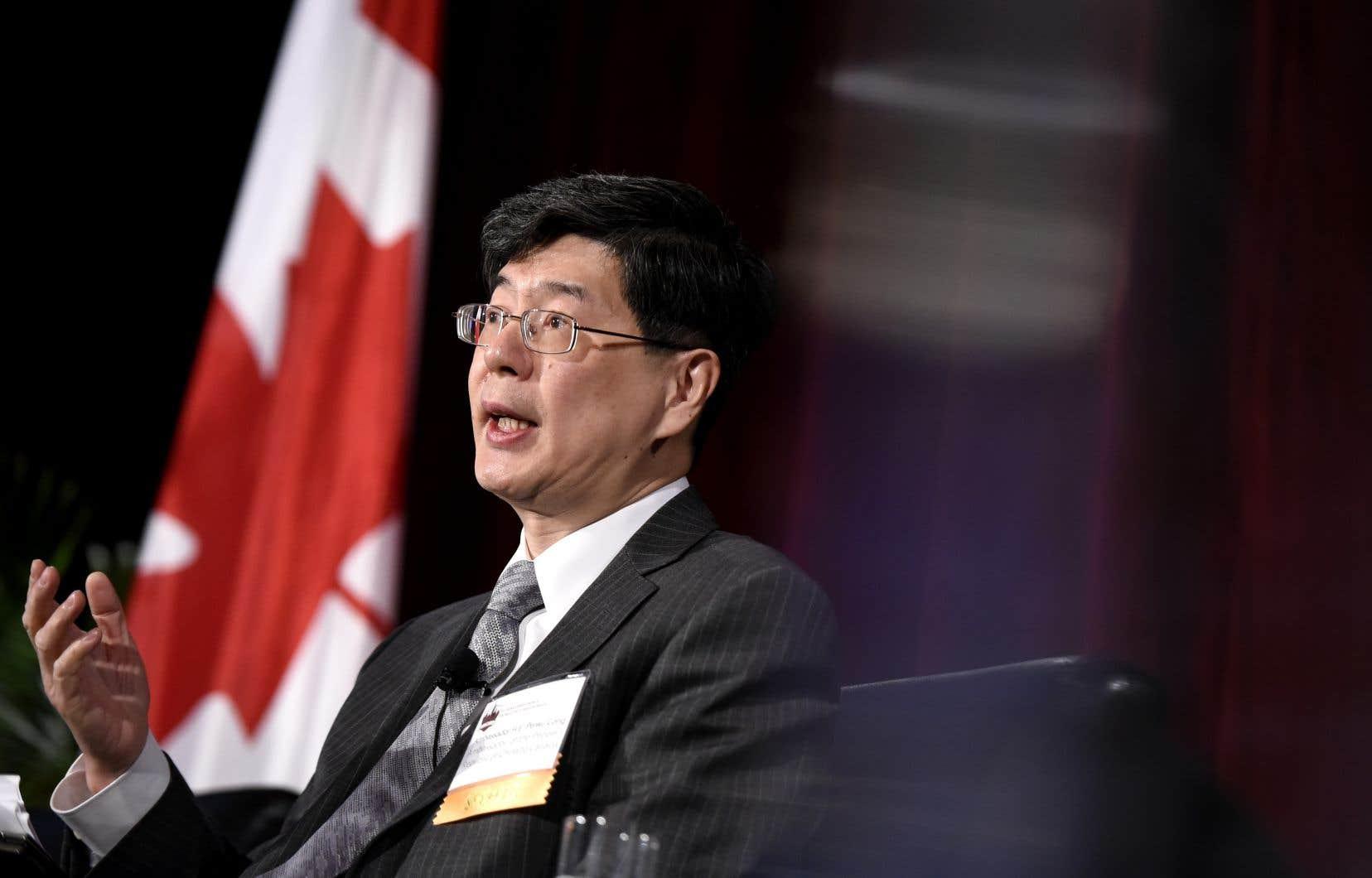 L'ambassadeur de Chine au Canada, Cong Peiwu