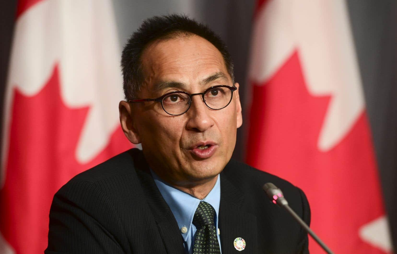 Le Dr Howard Njoo, sous-administrateur en chef de la santé publique du Canada