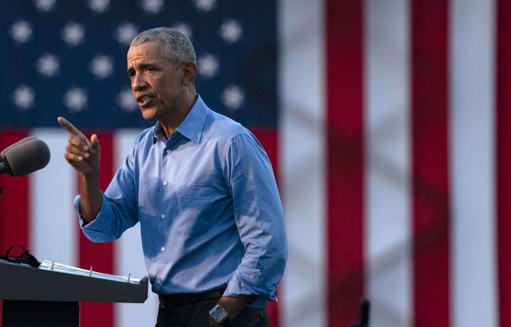 Dans un réquisitoire cinglant contre Donald Trump mercredi à Philadelphie, Barack Obama a dénoncé un président qui s'est montré incapable de prendre son poste «au sérieux».