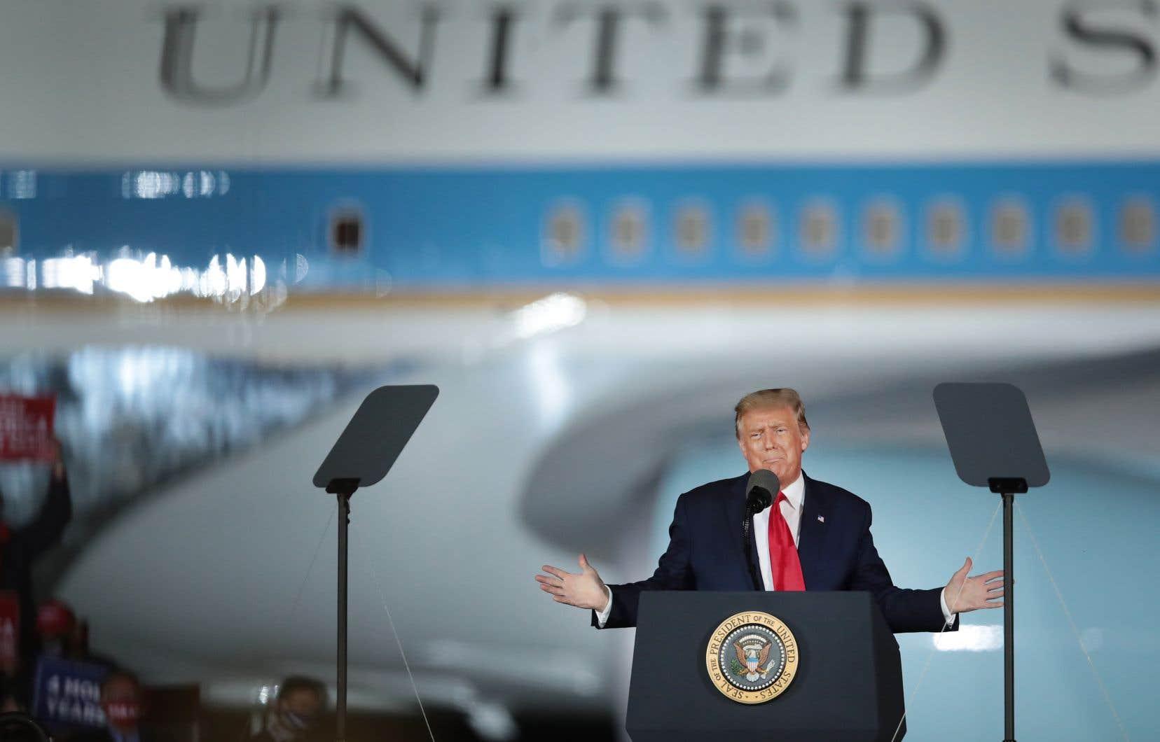 La question des frais de déplacement du président Donald Trump à bord d'Air Force One n'est pas tranchée au couteau.