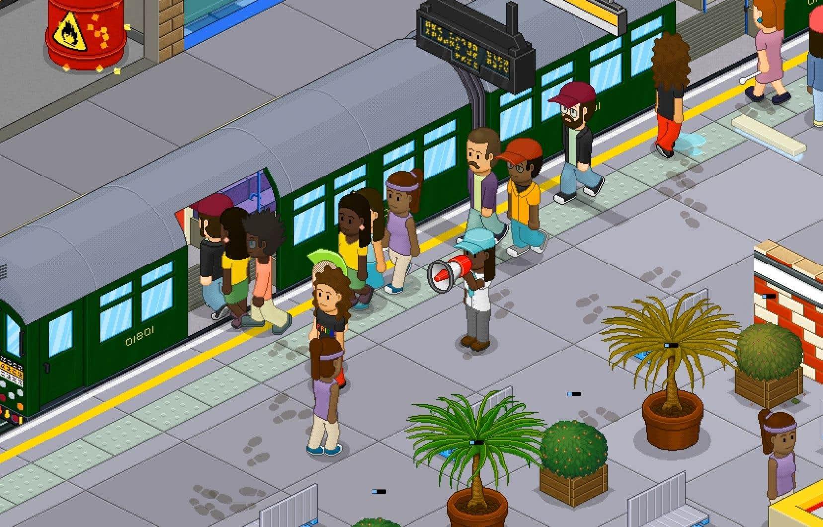 Sous ses allures sympathiques, «Overcrowd — A Commute 'Em Up» montre à quel point diriger un réseau de transport en commun peut être difficile.