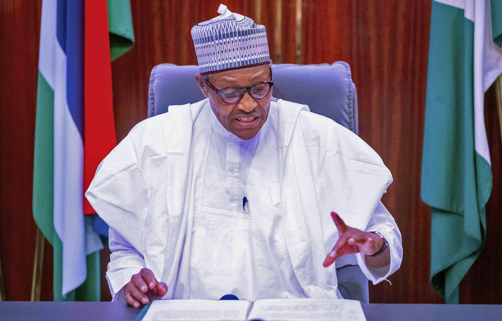 Dans un discours très attendu, Muhammadu Buhari s'est montré intransigeant jeudi face au soulèvement populaire qui frappe son pays.