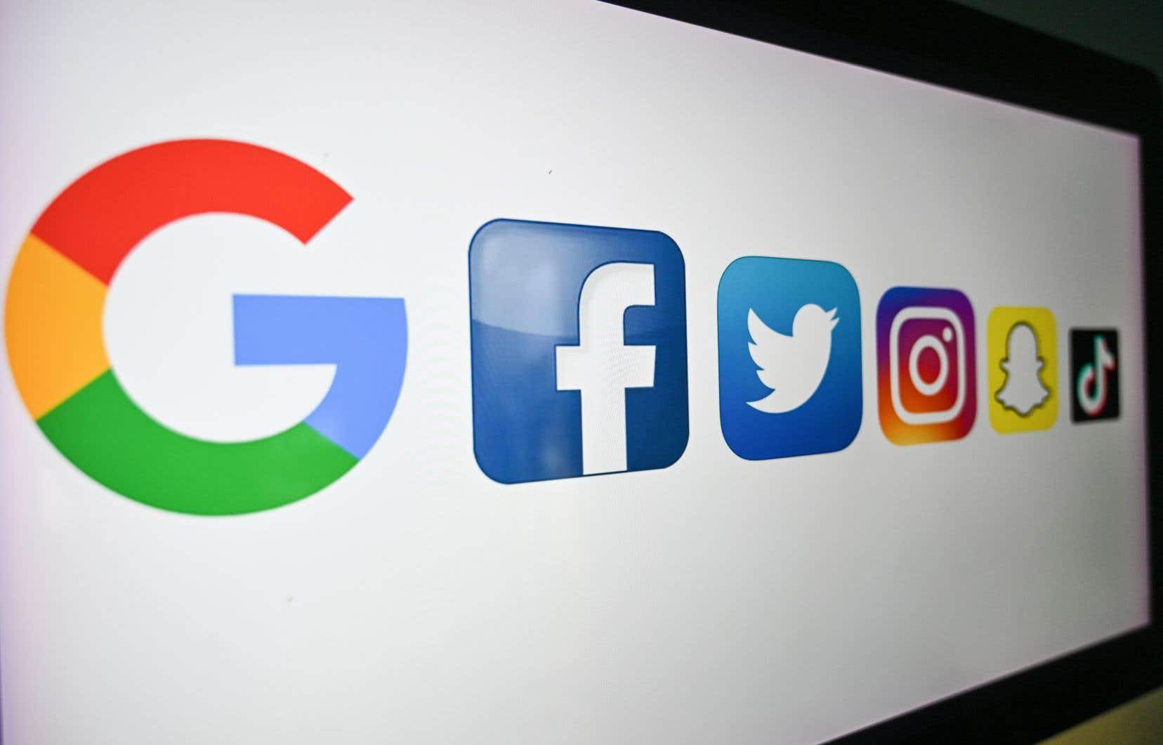 Au Canada, Google et Facebook contrôlent 80% de tous les revenus publicitaires en ligne.