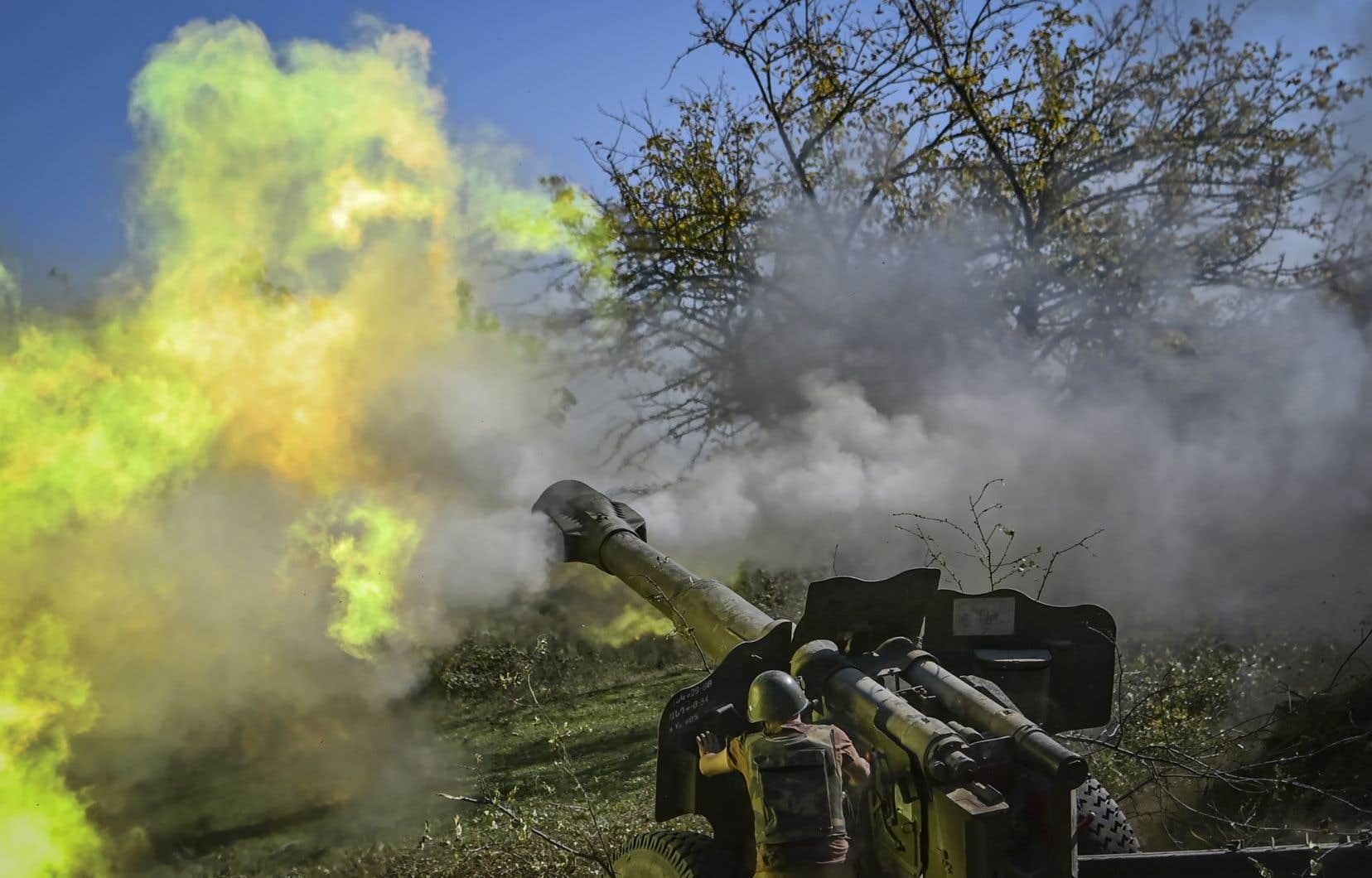 L'Arménie et l'Azerbaïdjan ont chacun dénoncé une «violation grossière» de la trêve par la partie adverse.
