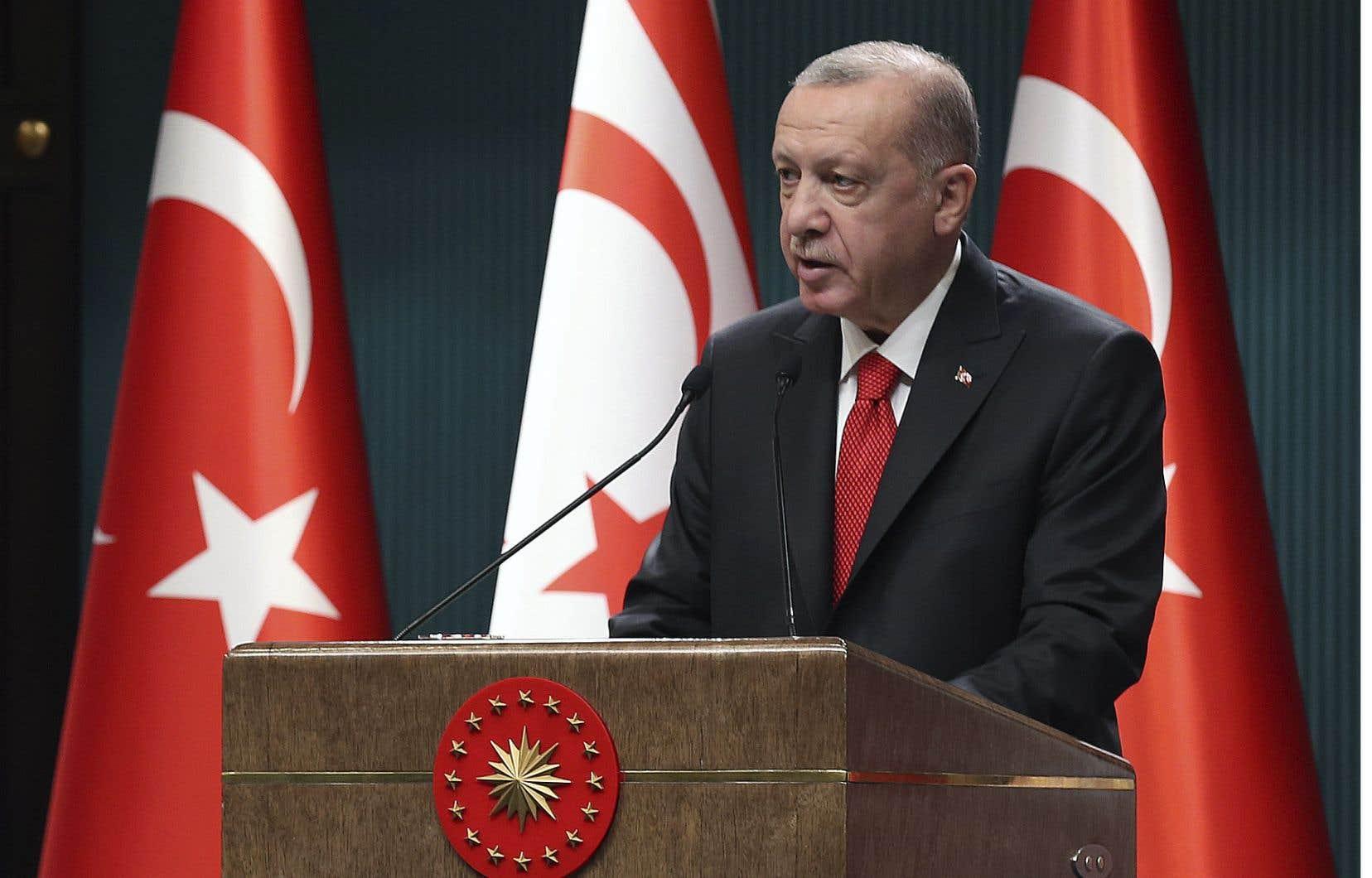 À deux reprises, ce week-end, le président turc avait mis en cause la «santé mentale» du président français, Emmanuel Macron, dénonçant ses positions vis-à-vis des musulmans.