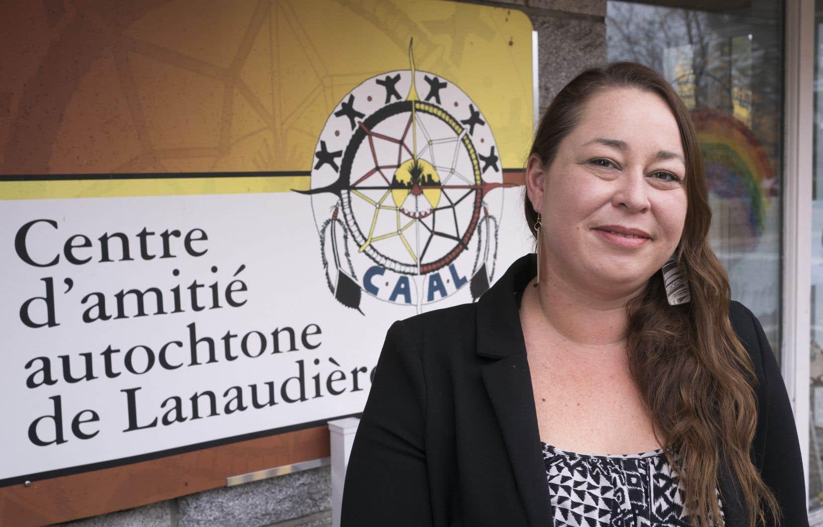 Jennifer Brazeau, directrice du Centre d'amitié autochtone de Lanaudière (CAAL)