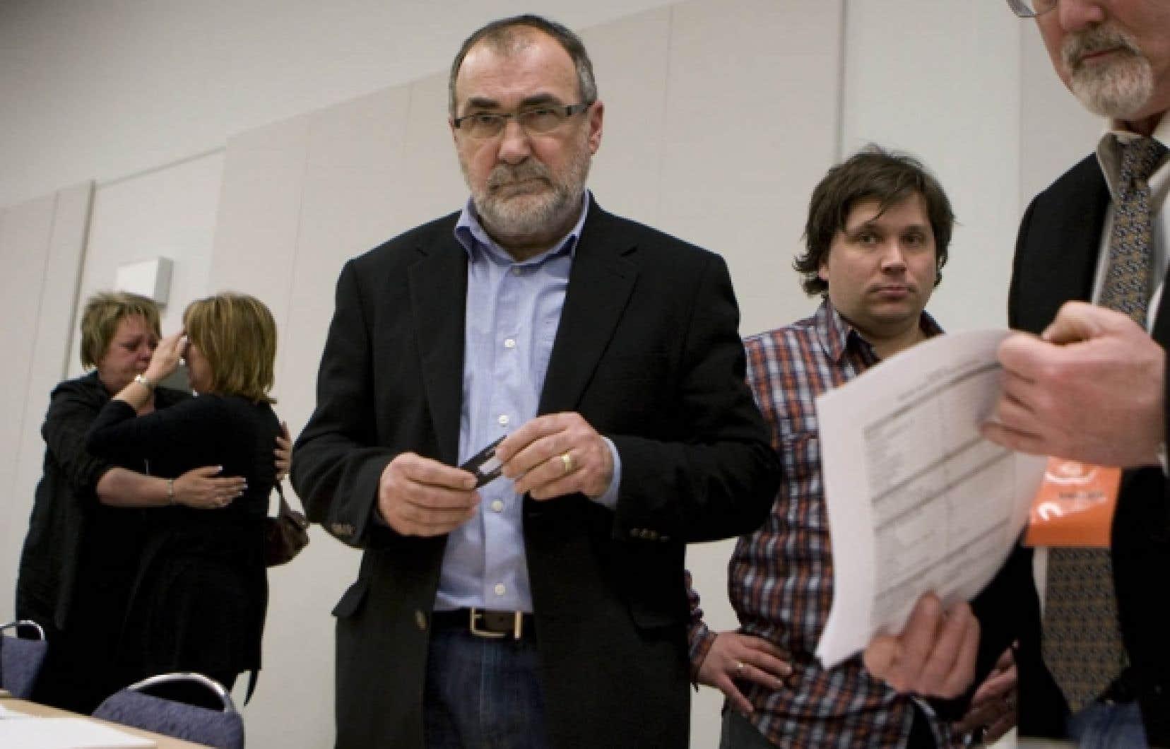 Pour le président du syndicat, Reynald Leblanc, il s'agit d'un jour de deuil. <br />