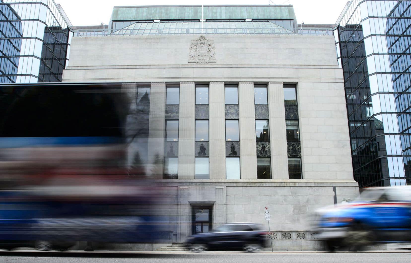 En l'espace d'à peine six mois, on a tergiversé à la Banque du Canada entre un optimisme modéré et un pessimisme modéré, en déviant momentanément vers l'extrême.