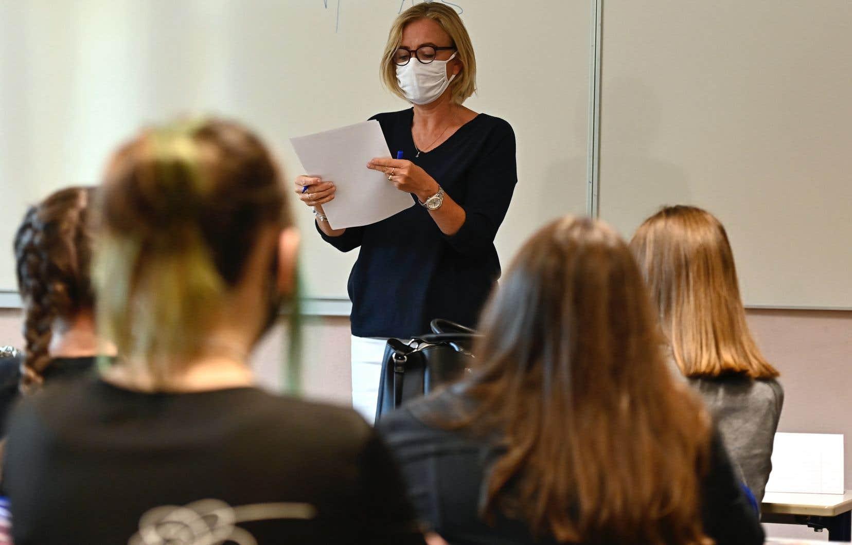 Le syndicat a sondé ses membres au sujet de l'impact de la pandémie sur leur travail, entre le 21septembre et le 12octobre 2020.