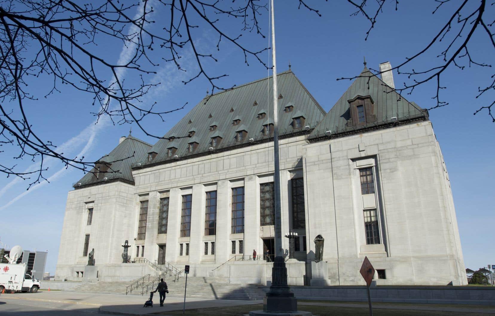 Le bâtiment de la Cour suprême du Canada, à Ottawa