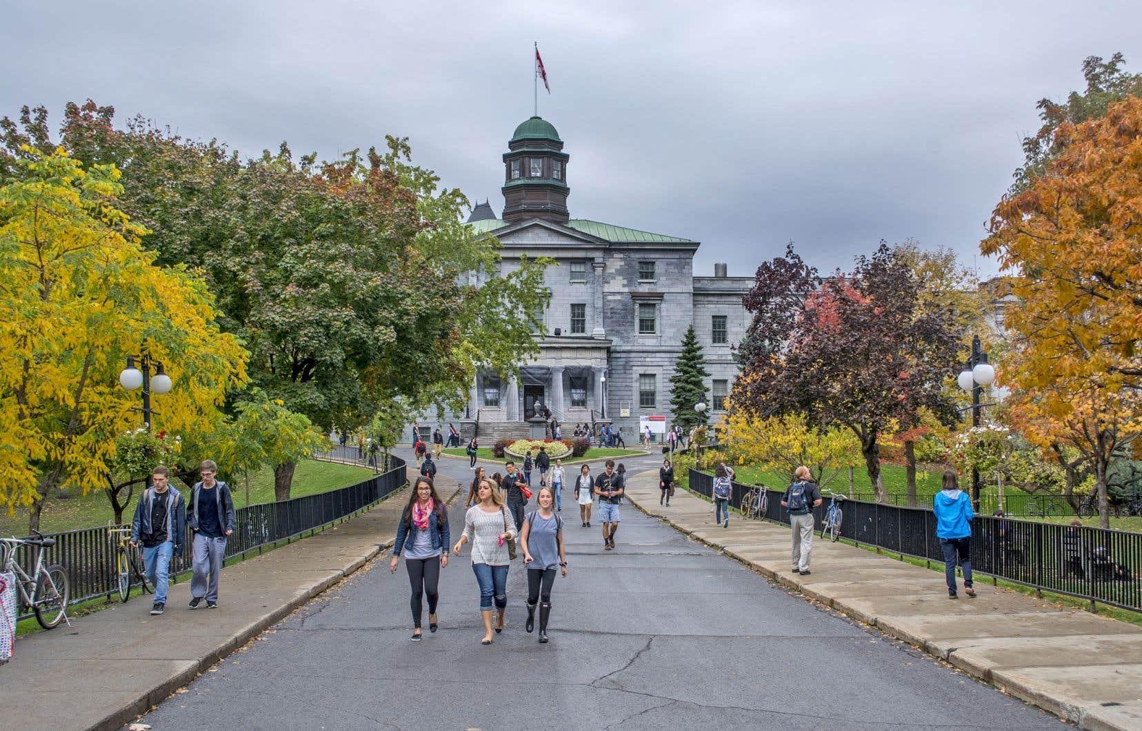 McGill a encaissé à elle seule 30% des transferts fédéraux versés aux universités québécoises, entre les années 2000 et 2017.