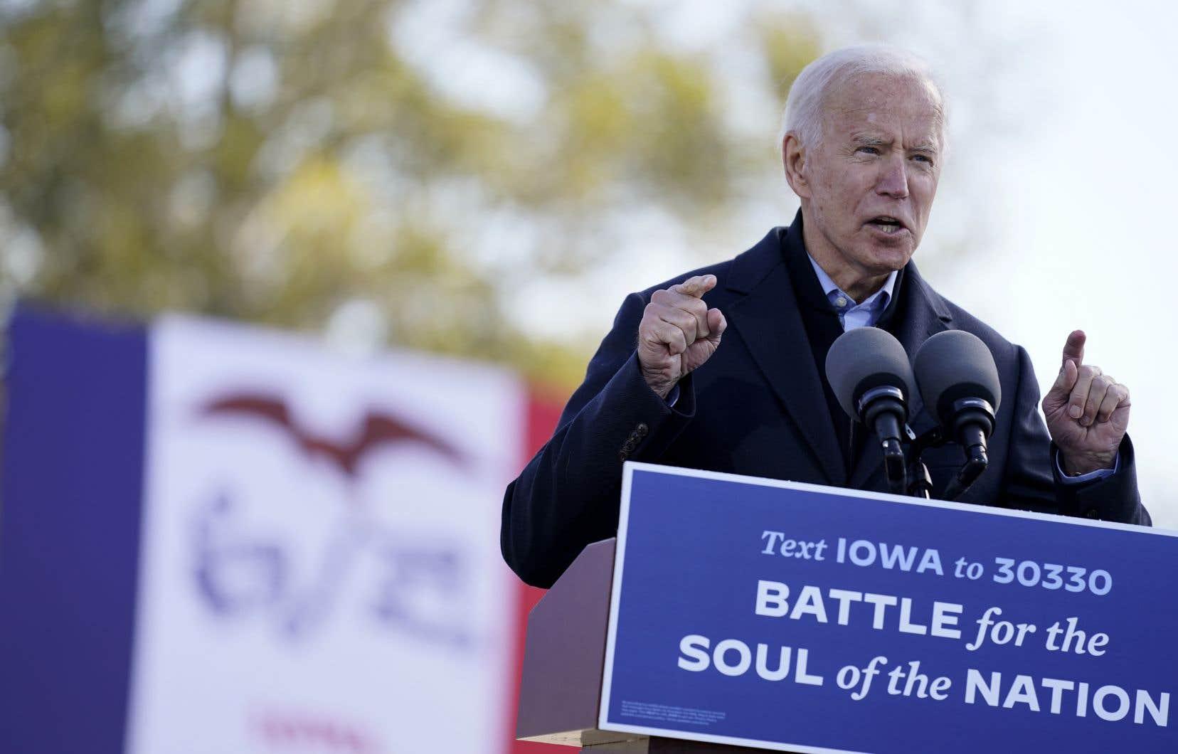«Le candidat Biden, réputé pour son pragmatisme et son sens du compromis, n'a pas été jusqu'à maintenant clair sur les objectifs de sa politique étrangère, au-delà de son opposition à Trump et de son désir de réparer les pots cassés depuis quatre ans», écrit l'auteur.