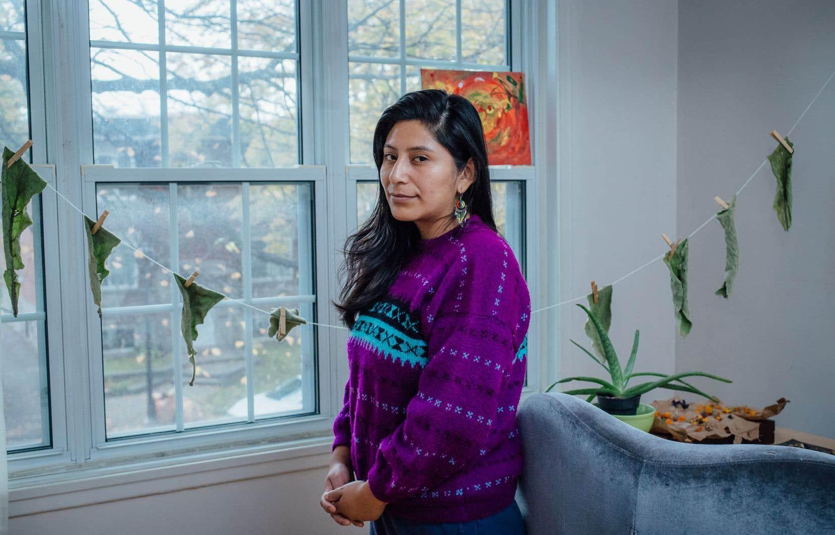 «Quand les gens me rencontrent pour la première fois, ils assument à tort que l'espagnol est ma langue maternelle», dit Silvia (Wara) Huampu, jeune Bolivienne de 28ans d'origine mi-quechua mi-aymaras, étudiante en travail social à l'Université du Québec à Montréal.