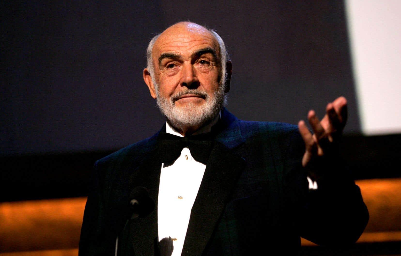 Le légendaire interprète des premiers James Bond, Sean Connery