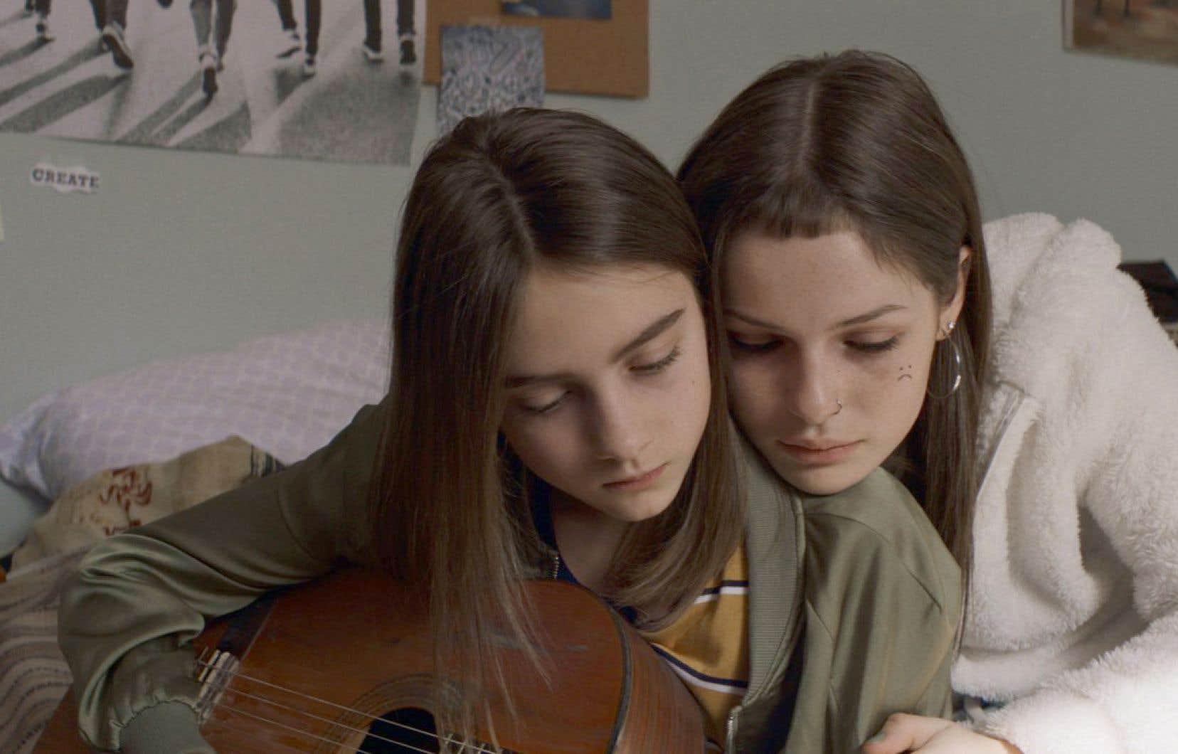 Rosalie Pépin et Kelly Dépeault dans le film «Vacarme», de Neegan Trudel, qui sera présenté en primeur au festival Cinemania.