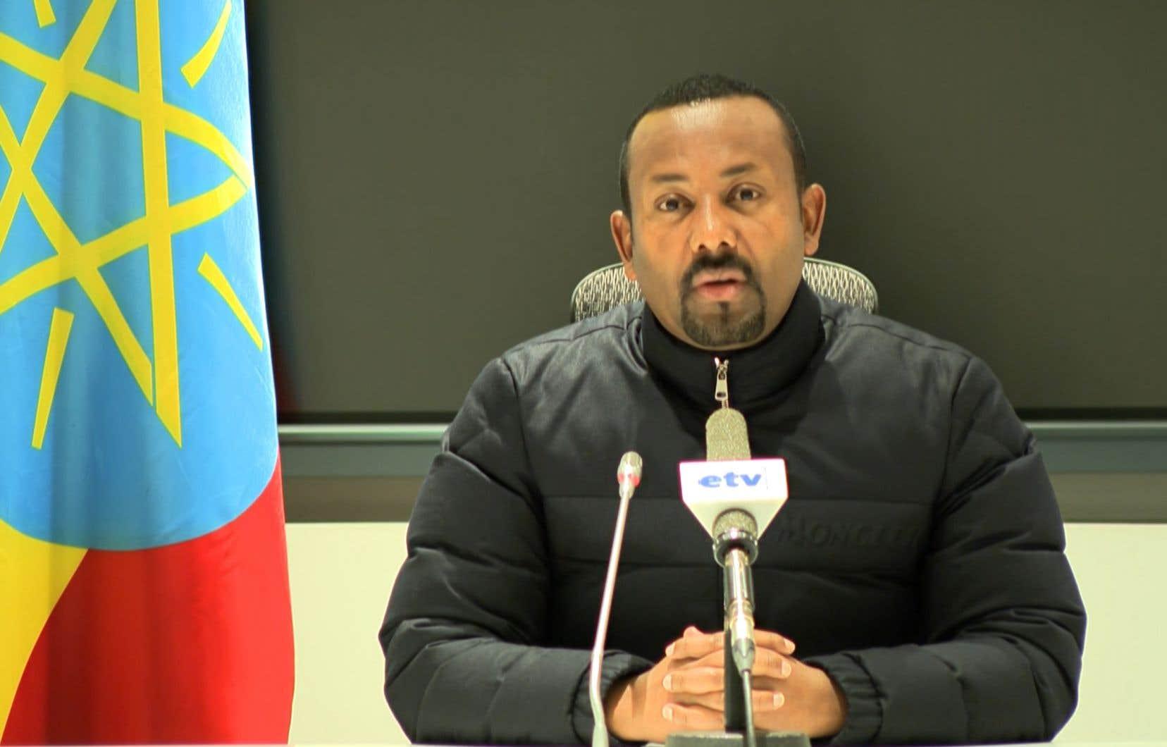 Mercredi en pleine nuit, Abiy Ahmed a accusé le Front de libération du peuple du Tigré (TPLF), le parti au pouvoir dans cette région, d'avoir «attaqué un camp militaire [fédéral] dans le Tigré».