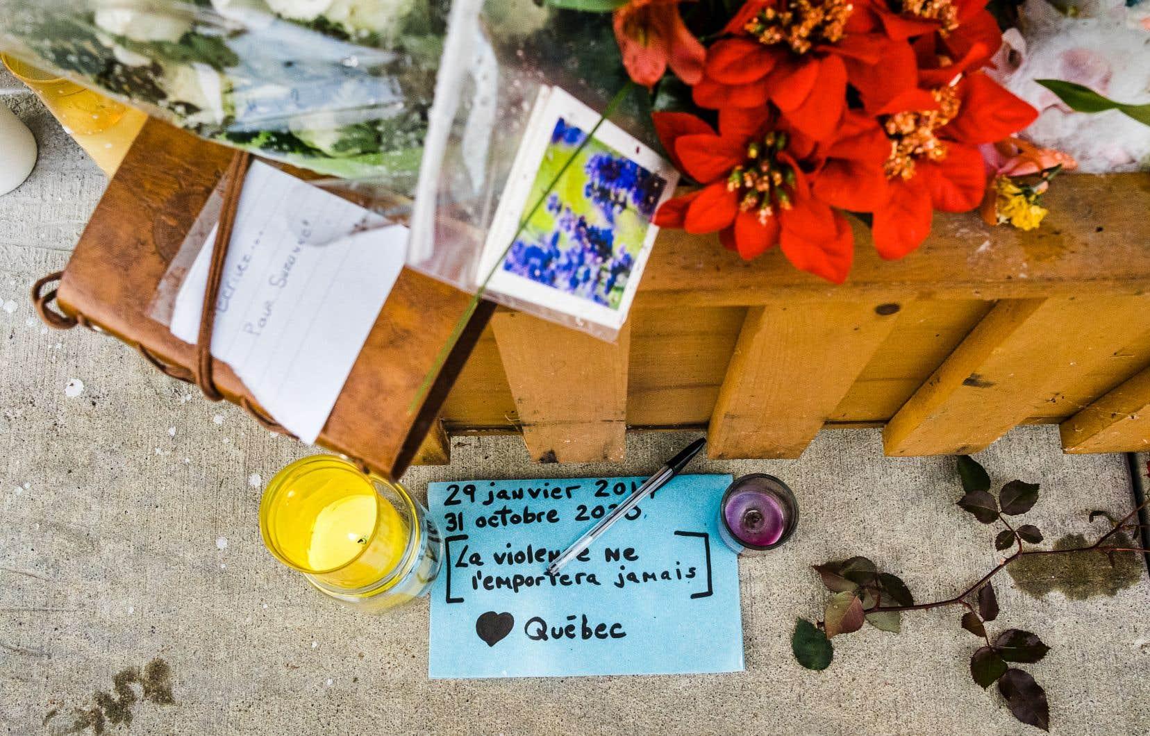 L'identité d'une seule victime demeure protégée, à sa demande. Les quatre autres blessés dans cette violente attaque pourront désormais être identifiés par les médias et témoigner publiquement des événements, au cours desquels François Duchesne et Suzanne Clermont ont été tués.