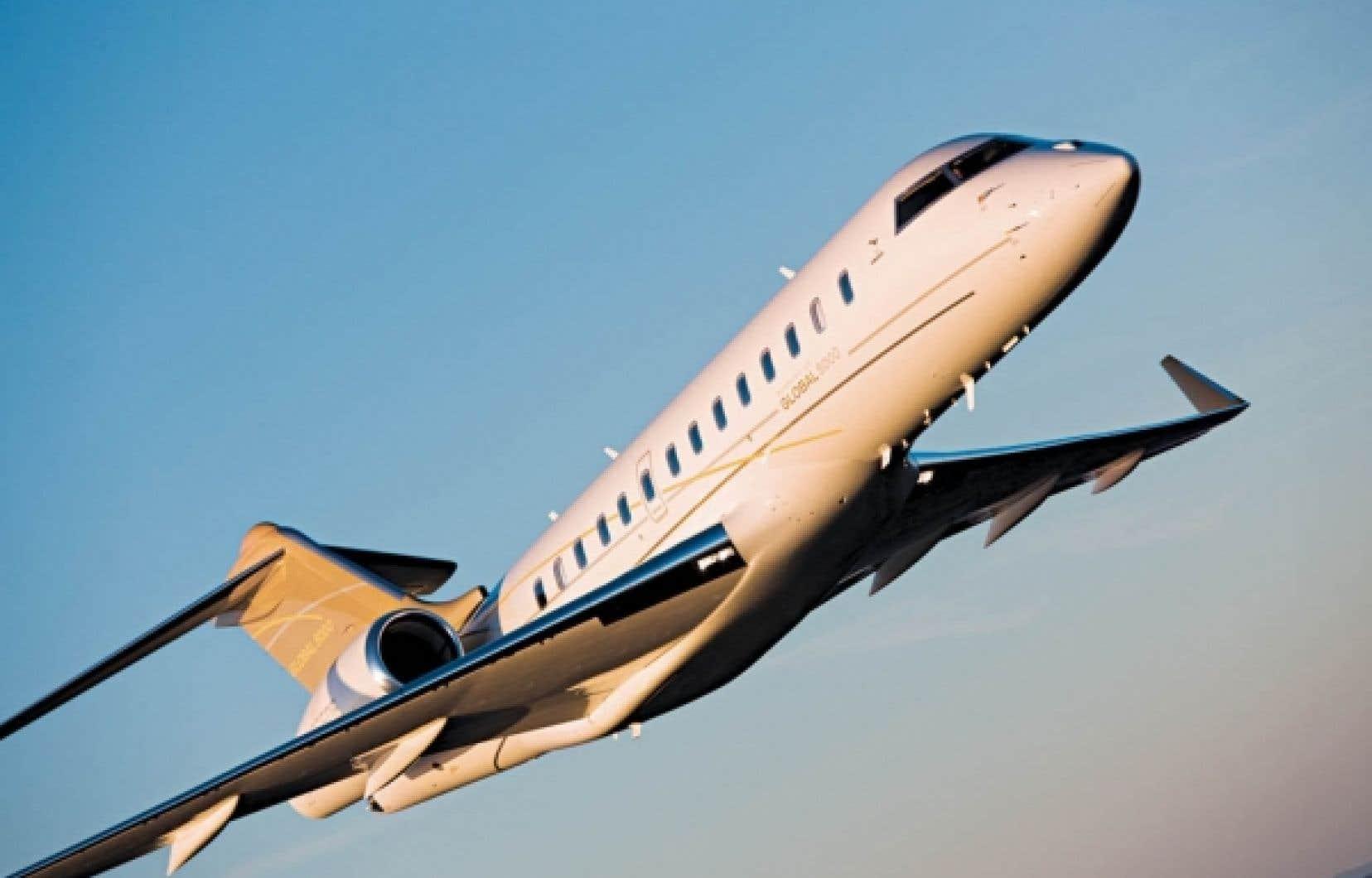 Le Global 5000 Vision, de Bombardier<br />