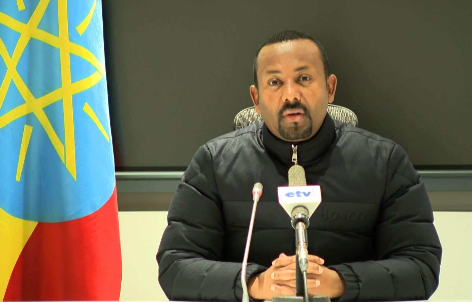 Mercredi matin, le premier ministre, Abiy Ahmed, avait annoncé le lancement d'opérations militaires contre les autorités de la région, qu'il accuse d'avoir attaqué des bases militaires éthiopiennes au Tigré.
