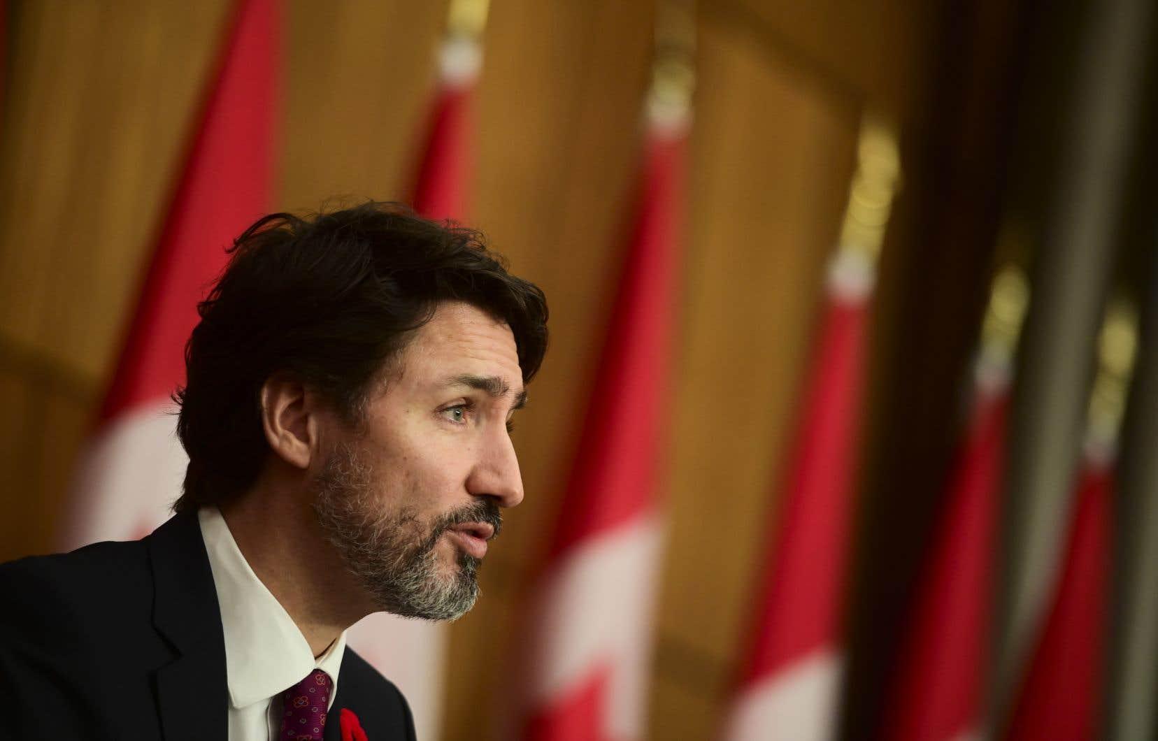 Le premier ministre du Canada, Justin Trudeau, a félicité de vive voix le président désigné des États-Unis, Joe Biden, lundi.