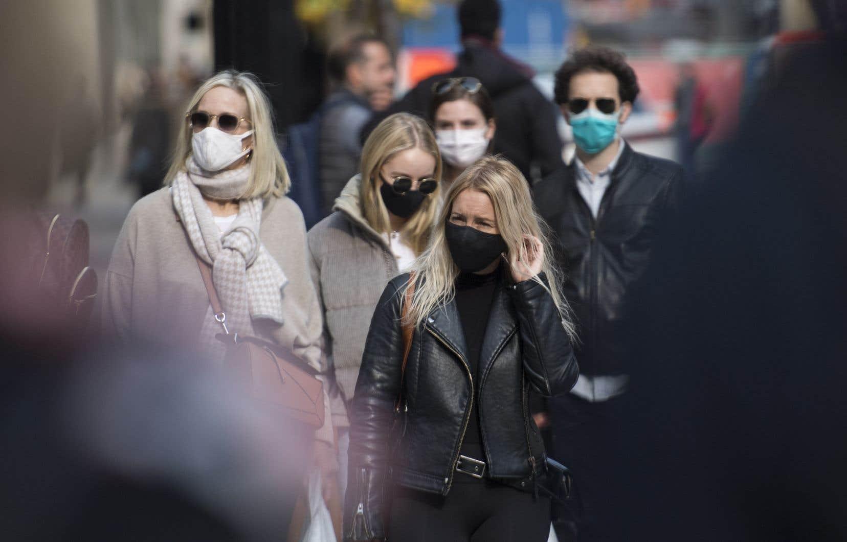 La semaine dernière, Québec a annoncé qu'il travaillait à l'élaboration de normes d'efficacité pour la fabrication de masques non médicaux.