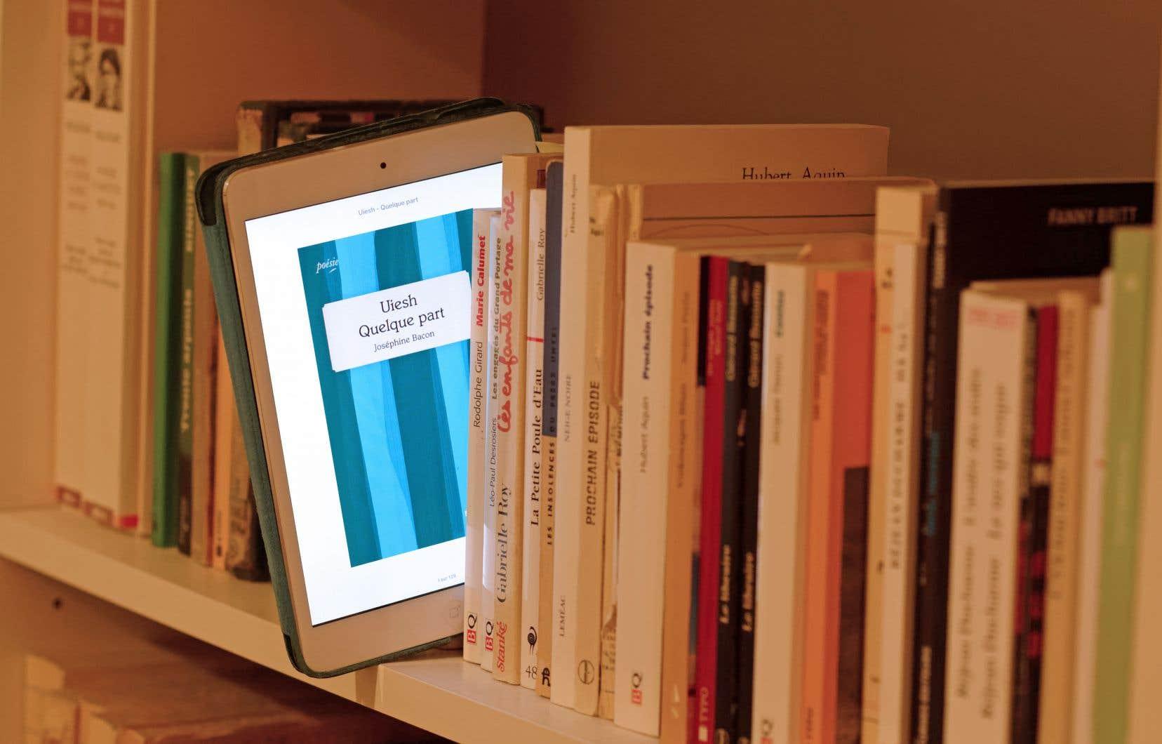 En numérique, c'est la production de la liseuse qui pèse le plus lourd.