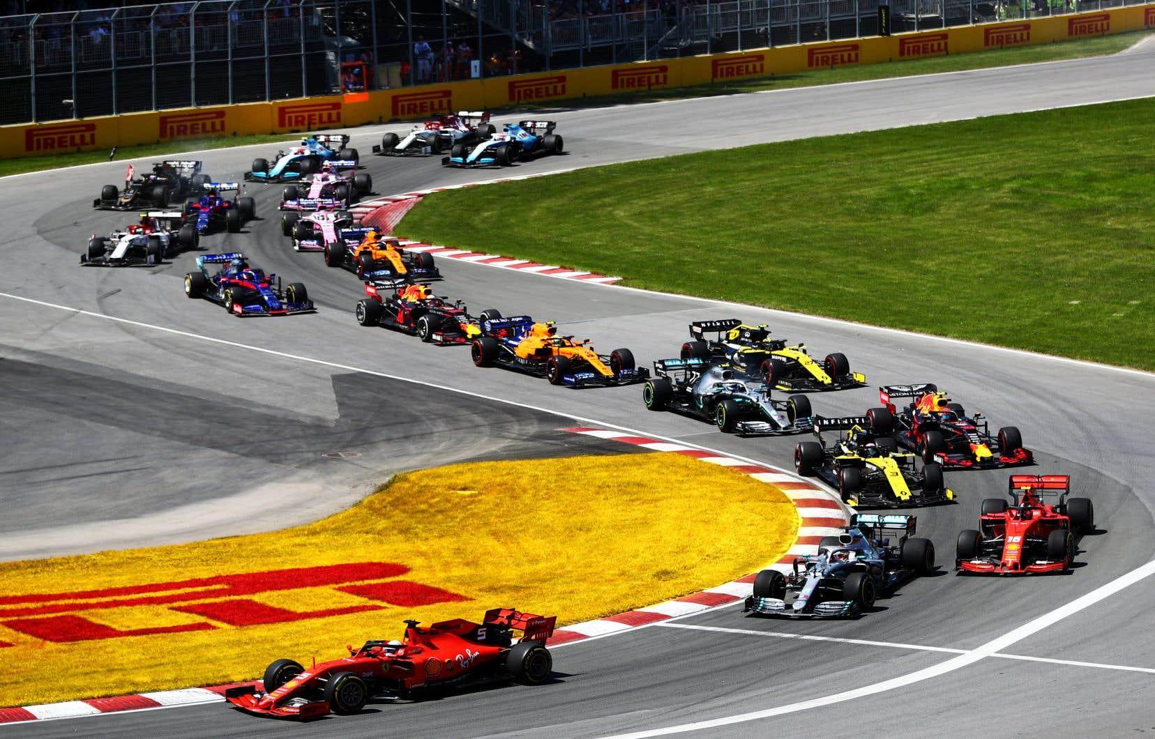 La Formule 1 a dévoilé son calendrier provisoire pour la saison prochaine avec pour le moment 23 courses au programme.
