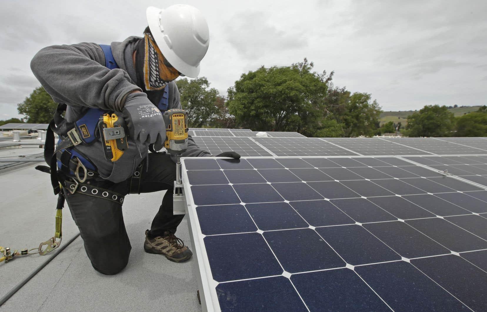 Cette année, pendant que les énergies fossiles s'effondraient, les capacités de production nouvelles ont porté à près de 90% sur des énergies renouvelables, tirées par le solaire, l'éolien et l'hydroélectricité, notamment aux États-Unis et en Chine.