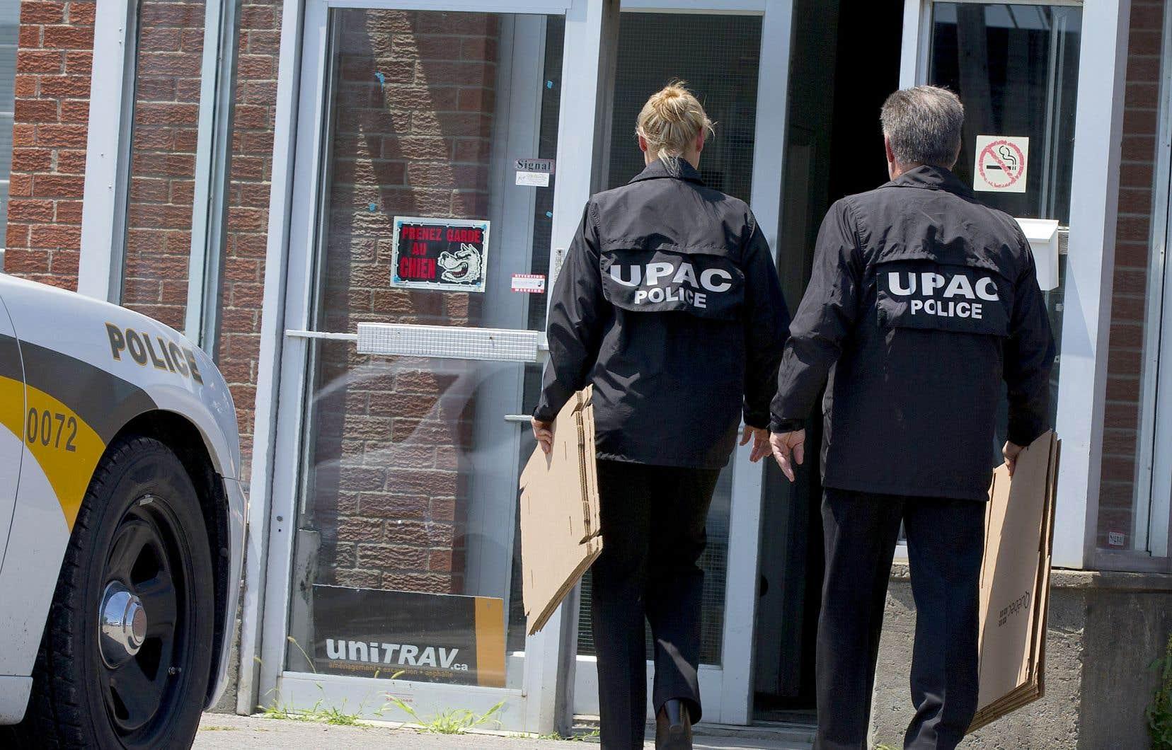 «Le redressement de l'UPAC est amorcé depuis déjà deux ans», écrit l'auteur.