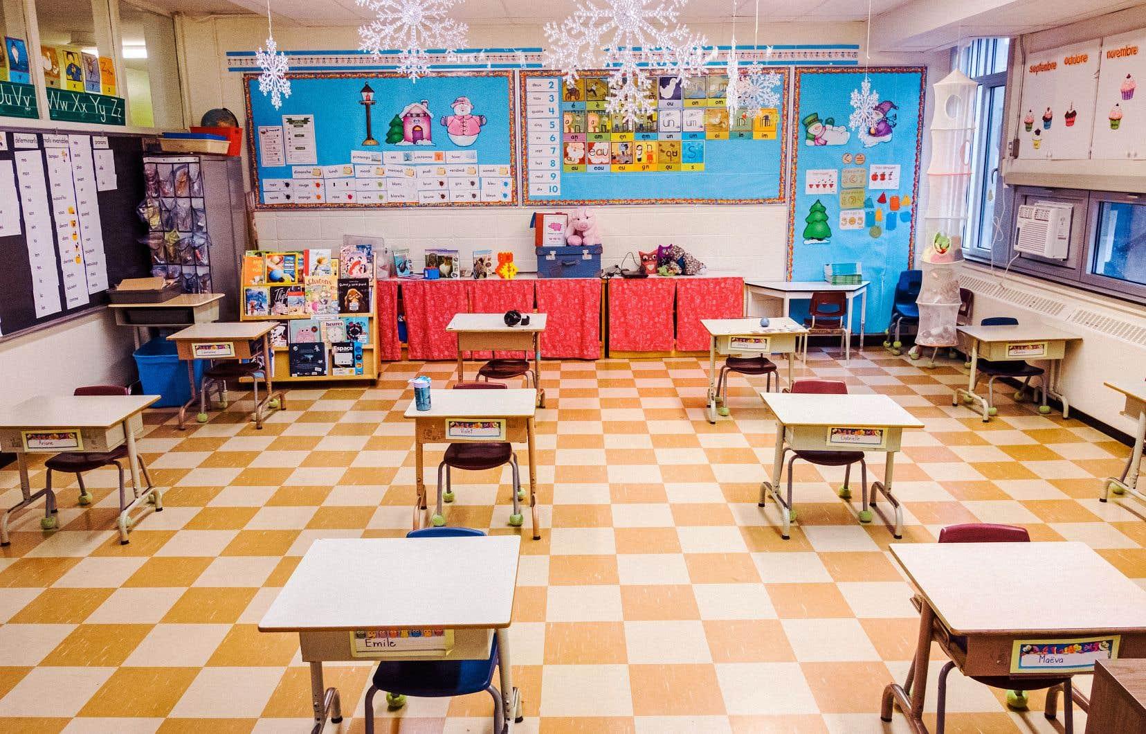 Avec l'enseignement en classe et à distance, les enseignants sont débordés, selon le sondage réalisé par la FAE.