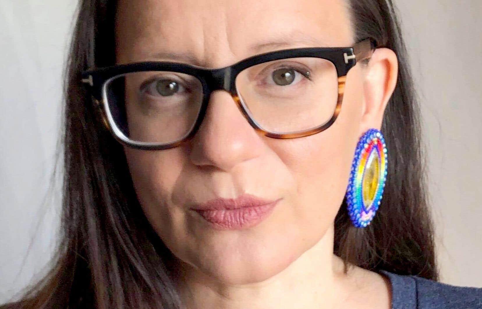 L'écrivaine Cherie Dimaline