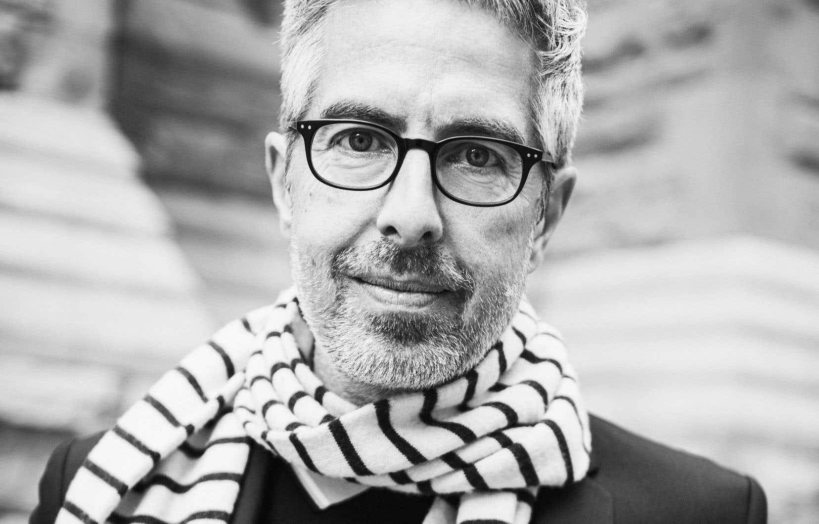 L'écrivain Yann Fortier