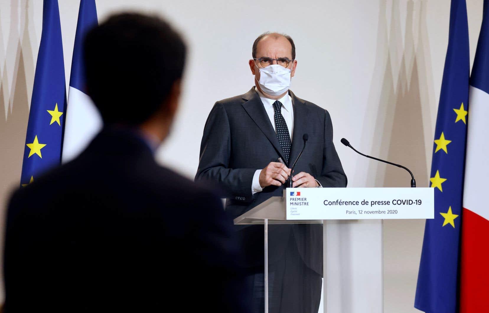Le premier ministre français, Jean Castex, a souligné qu'il y avait en France, «une hospitalisation toutes les 30 secondes».